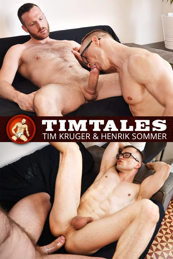 TimTales: Newcomer Henrik Sommer bottoms for Tim Kruger