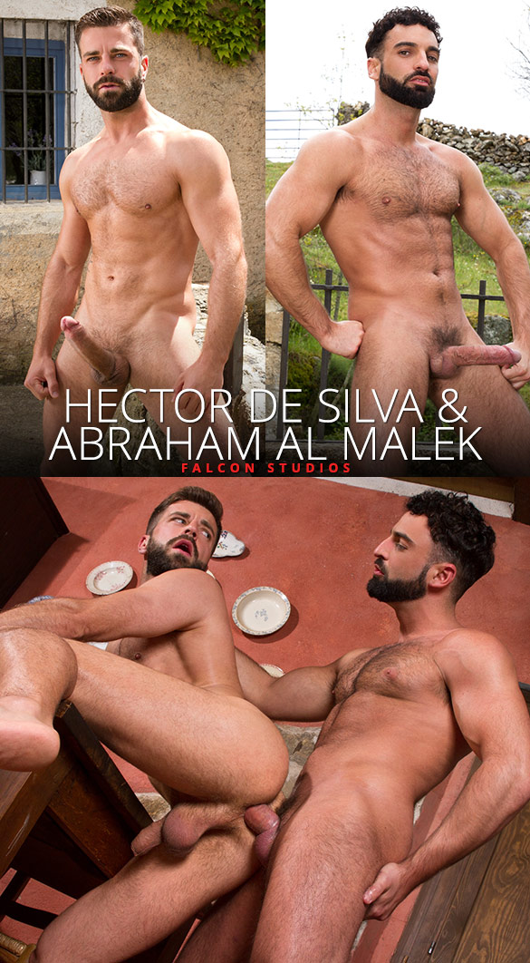 Falcon Studios: Abraham Al Malek and Hector de Silva fuck each other
