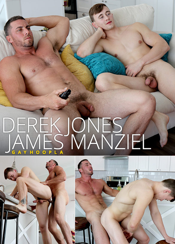 GayHoopla: Derek Jones fucks James Manziel