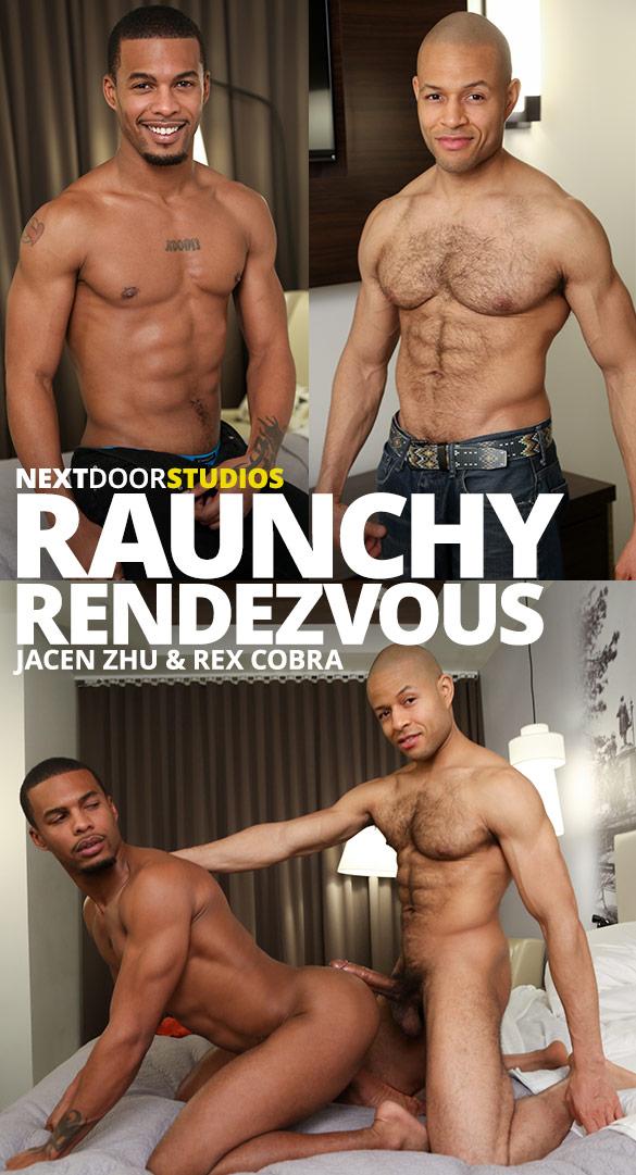 """Next Door Studios: Rex Cobra bangs Jacen Zhu in """"Raunchy Rendezvous"""""""