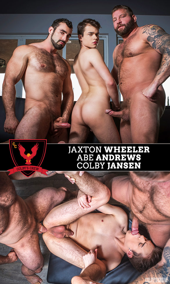 "Colby's Crew: Colby Jansen and Jaxton Wheeler tag team Abe Andrews in ""Don't Tell Mom, Part 3"""
