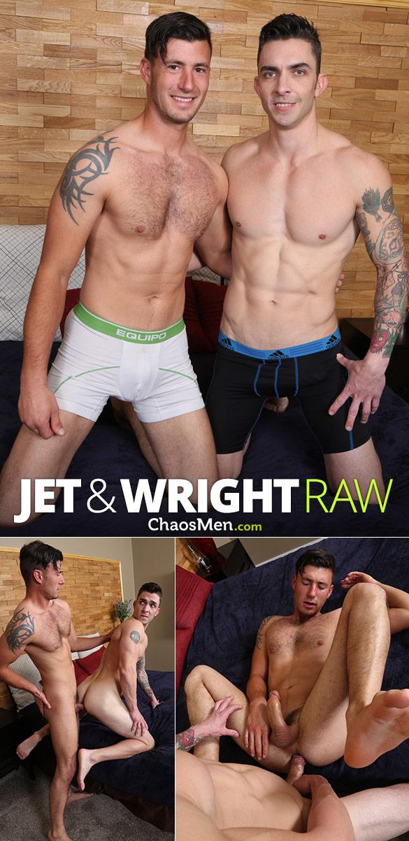 ChaosMen: Jet and Wright flip fuck raw