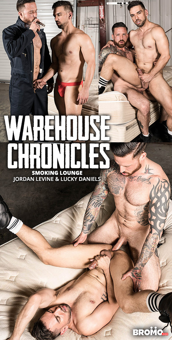 "Bromo: Jordan Levine slams Lucky Daniels raw in ""Warehouse Chronicles: Smoking Lounge"""