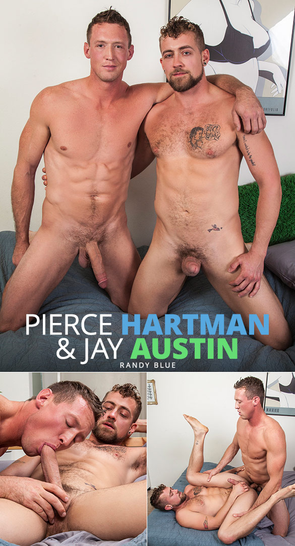 Randy Blue: Pierce Hartman barebacks Jay Austin