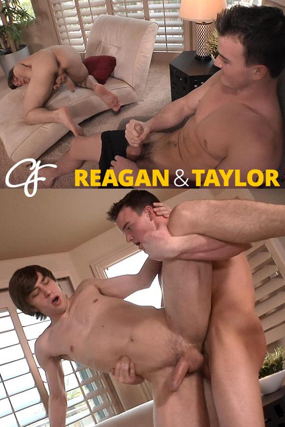 Corbin Fisher: Taylor barebacks Reagan