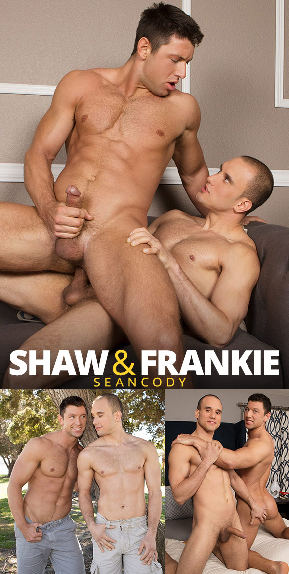 Sean Cody: Frankie bangs Shaw raw