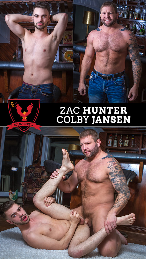 Colby's Crew: Colby Jansen fucks Zac Hunter Cabin Buddies, Part 1