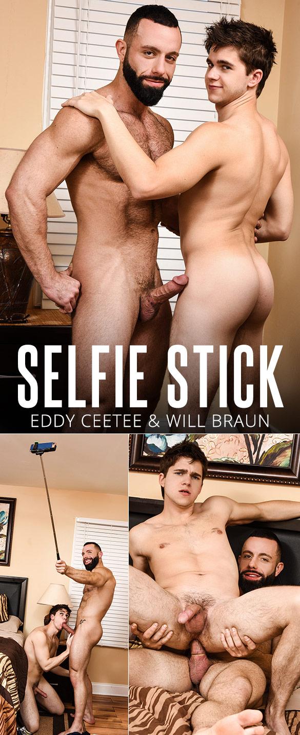 "Men.com: Eddy CeeTee bangs Will Braun in ""Selfie Stick"""