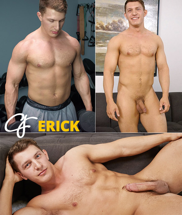 Corbin Fisher: Erick busts a nut