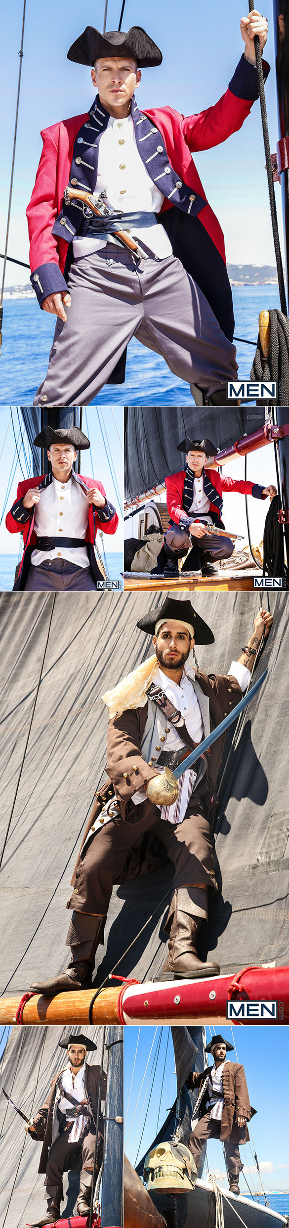 "Men.com: Paddy O'Brian bottoms for Diego Sans in ""Pirates: A Gay XXX Parody, Part 4"""