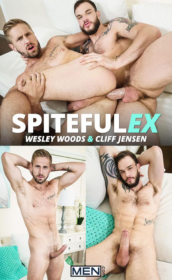 """Men.com: Cliff Jensen tops Wesley Woods in """"Spiteful Ex"""""""