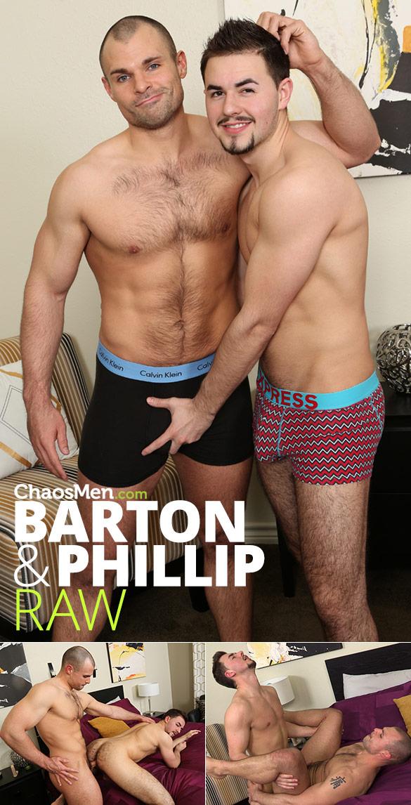 ChaosMen: Barton pops Phillip's ass cherry