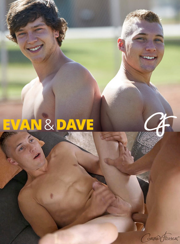 Corbin Fisher: Evan bangs Dave raw