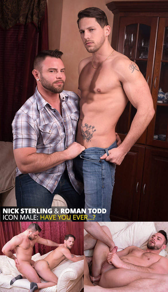 "IconMale: Nick Sterling and Roman Todd flip fuck in ""Truth or Dare"""