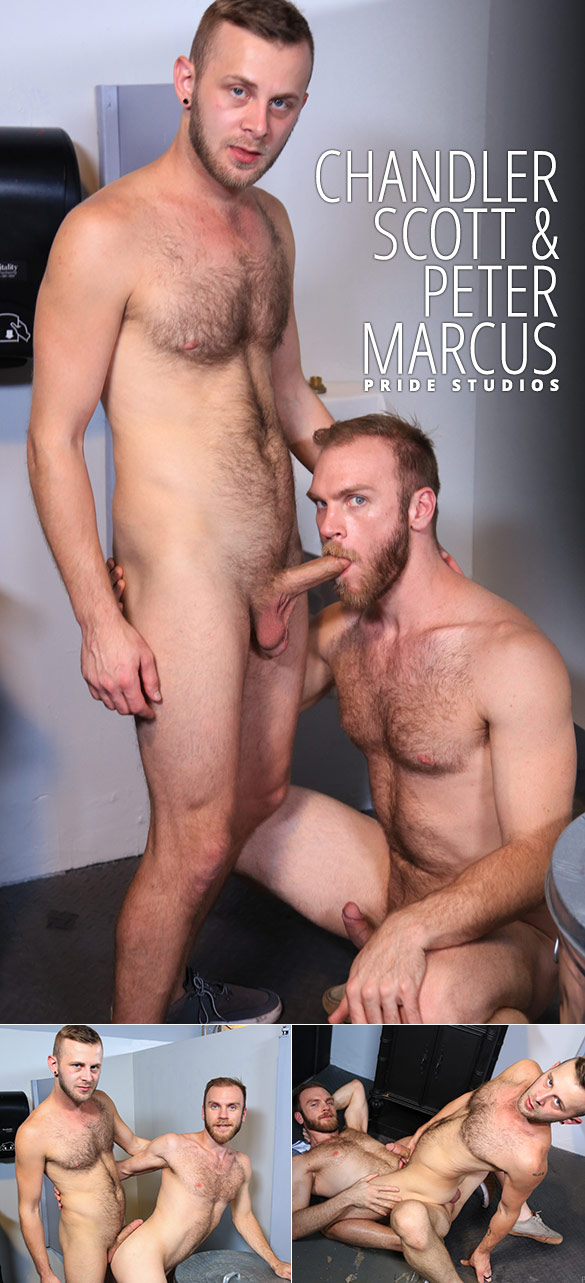 "Pride Studios: Chandler Scott and Peter Marcus flip fuck in ""The Glory of Being Versatile"""