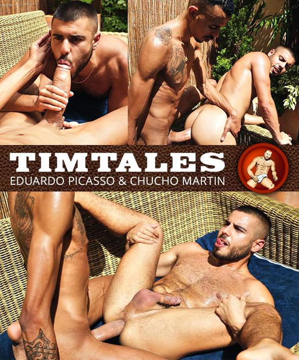 TimTales: Chucho Martin bottoms for Eduardo Picasso and his enormous cock