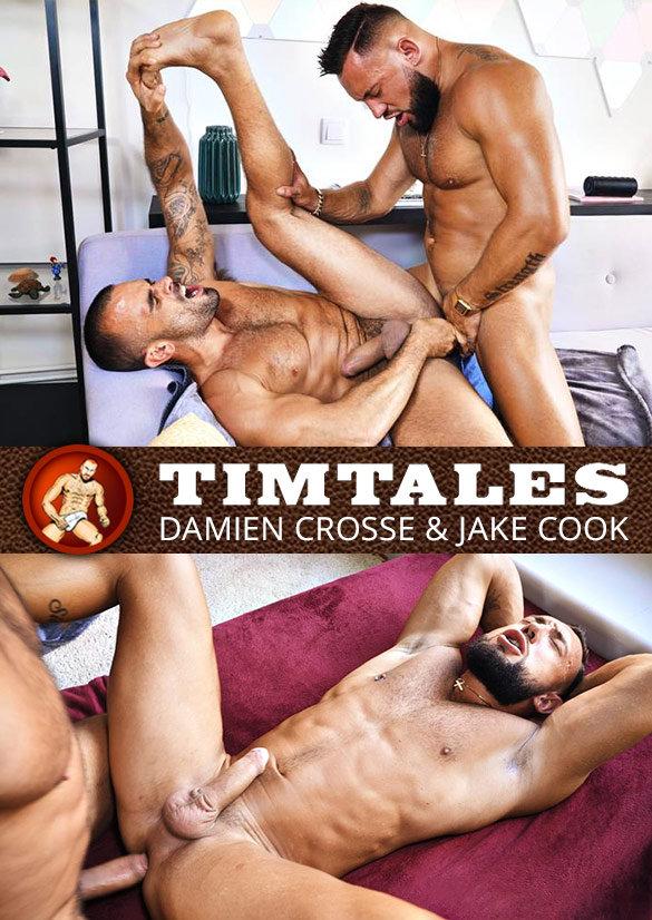 TimTales: Damien Crosse and Jake Cook bang each other bareback