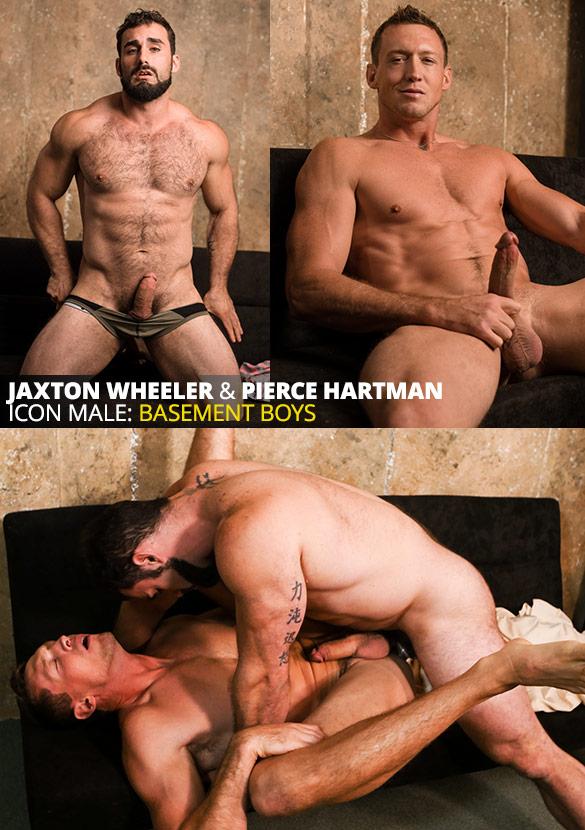 "IconMale: Jaxton Wheeler pounds Pierce Hartman in ""Age of Innocence"""