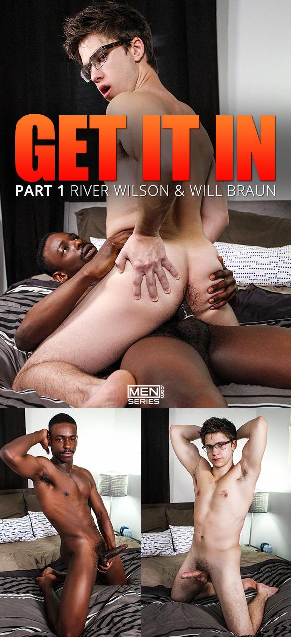 """Men.com: River Wilson fucks Will Braun in """"Get It In, Part 1"""""""