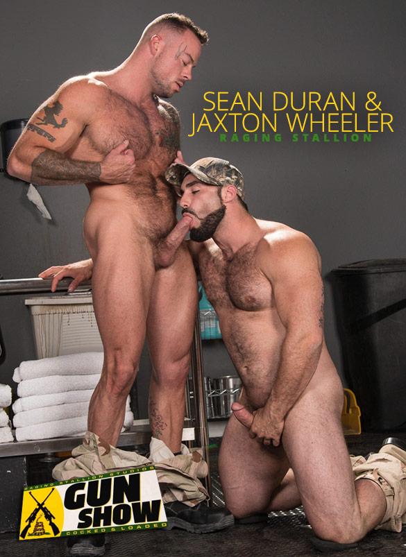 """Raging Stallion: Jaxton Wheeler and Sean Duran blow each other in """"Gun Show"""""""