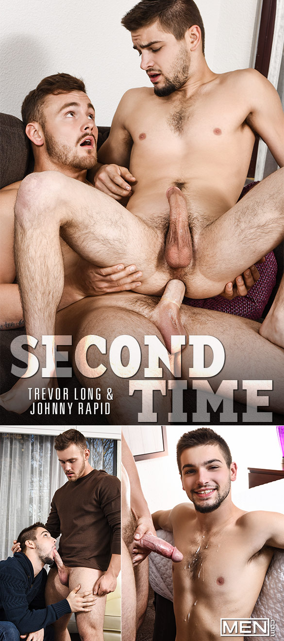"Men.com: Trevor Long fucks Johnny Rapid in ""Second Time"""