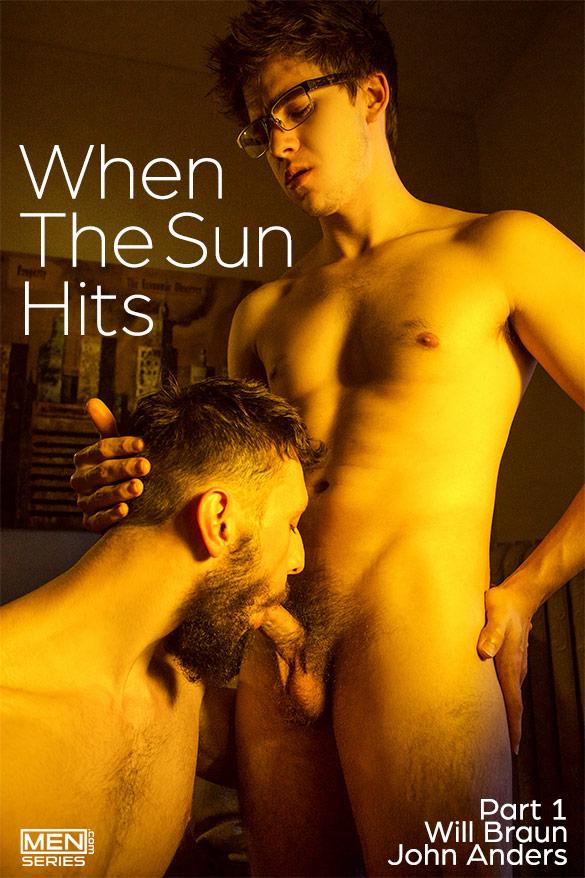 "Men.com: Will Braun fucks John Anders in ""When The Sun Hits, Part 1"""