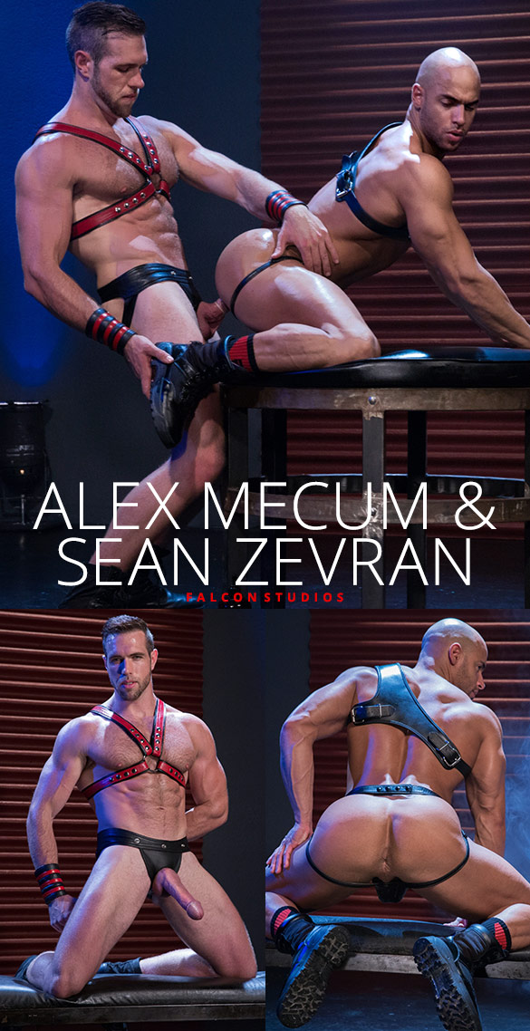Falcon Studios: Alex Mecum and Sean Zevran's big-dicked flip-fuck