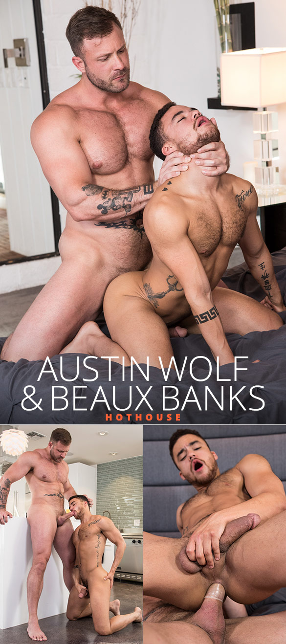 "HotHouse: Austin Wolf fucks Beaux Banks in ""The Fixer"""
