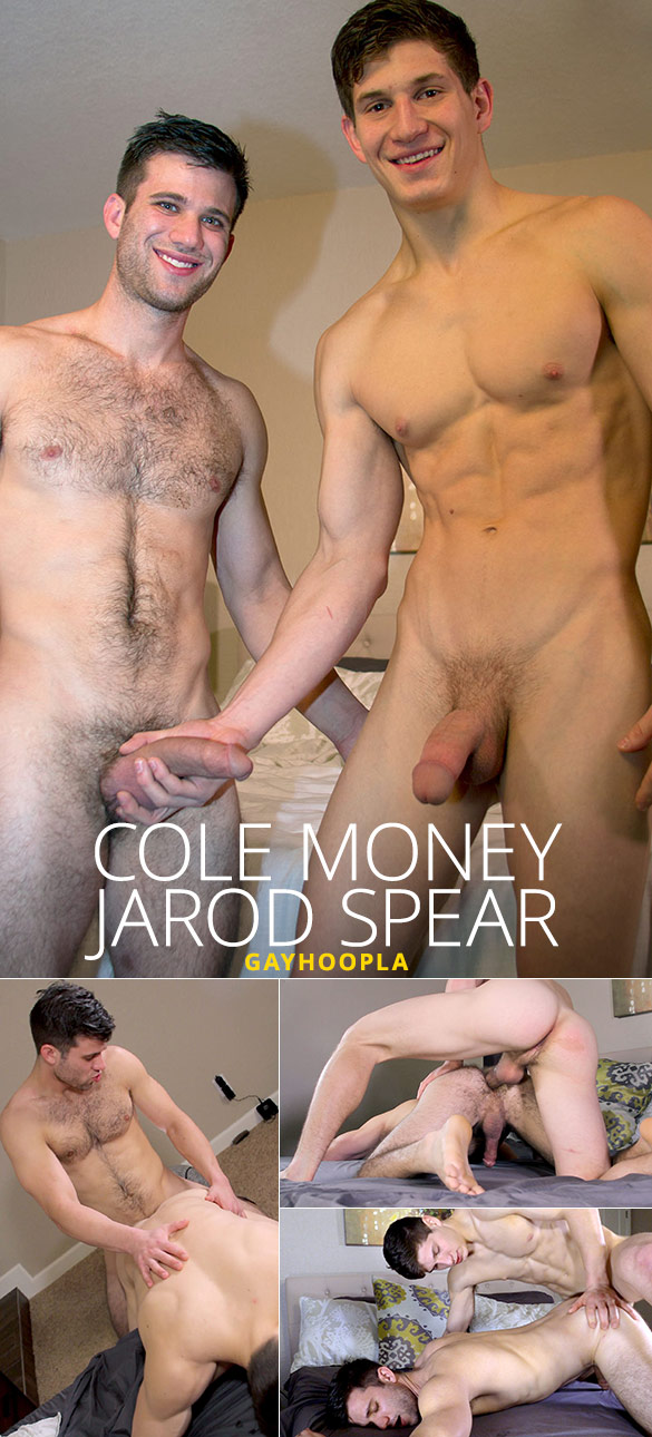GayHoopla: Cole Money and Jarod Spear flip fuck
