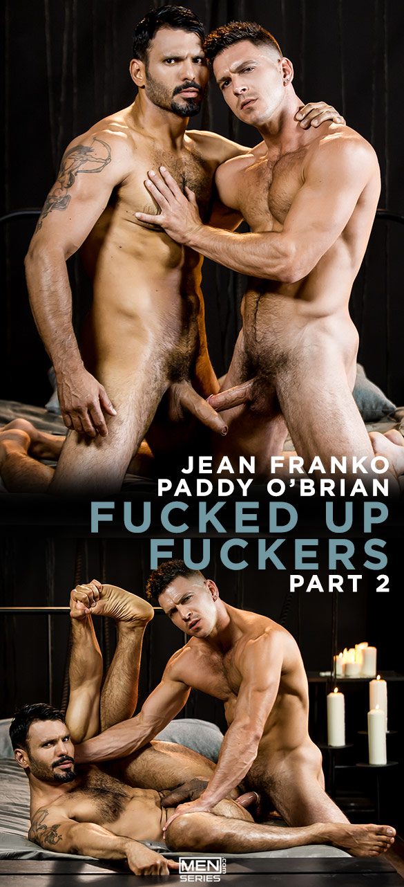 "Men.com: Paddy O'Brian pounds Jean Franko in ""Fucked Up Fuckers, Part 2"""