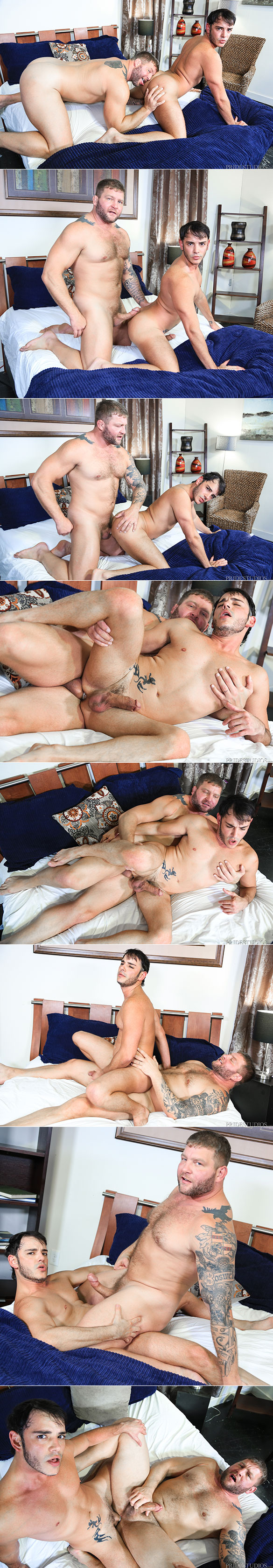 "Pride Studios: Colby Jansen and Rego Bello flip fuck in ""Let's Be Versatile Baby"""