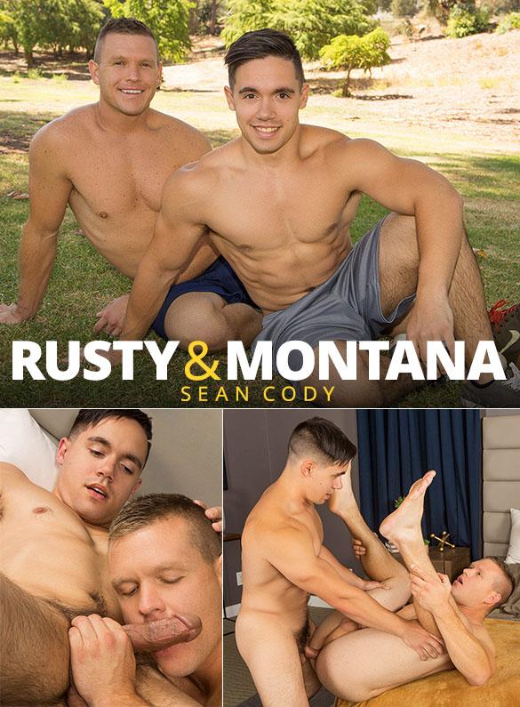 Sean Cody: Montana barebacks Rusty