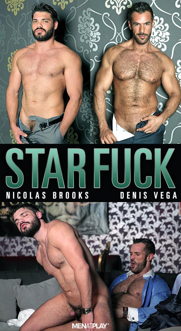 """MenAtPlay: Denis Vega bangs Nicolas Brooks in """"Star Fuck"""""""