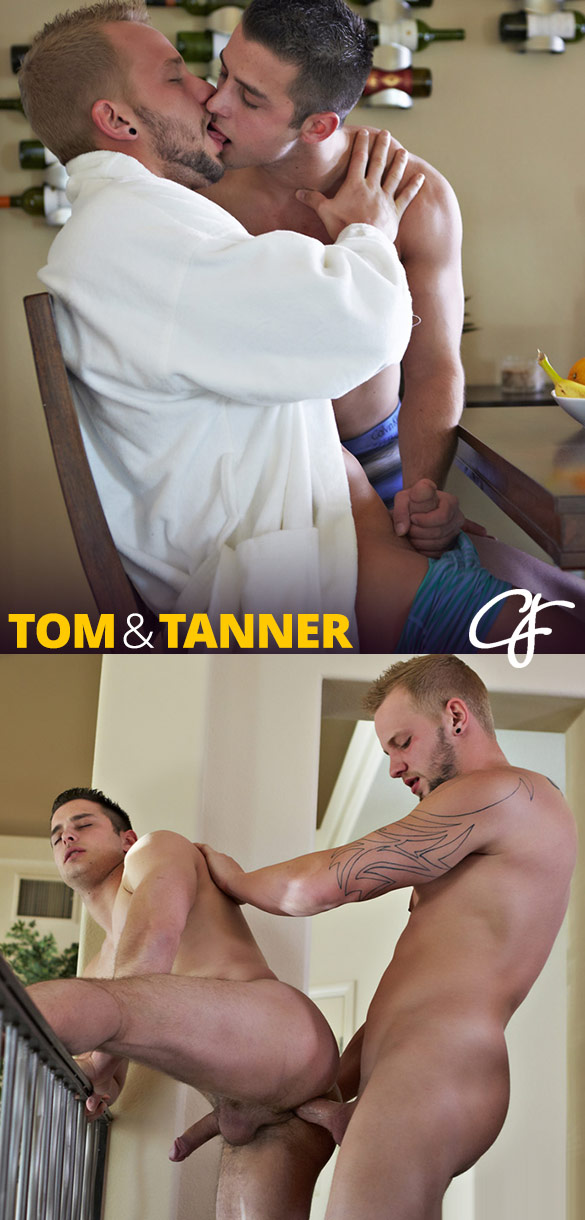 Corbin Fisher: Tom and Tanner's raw morning fuck