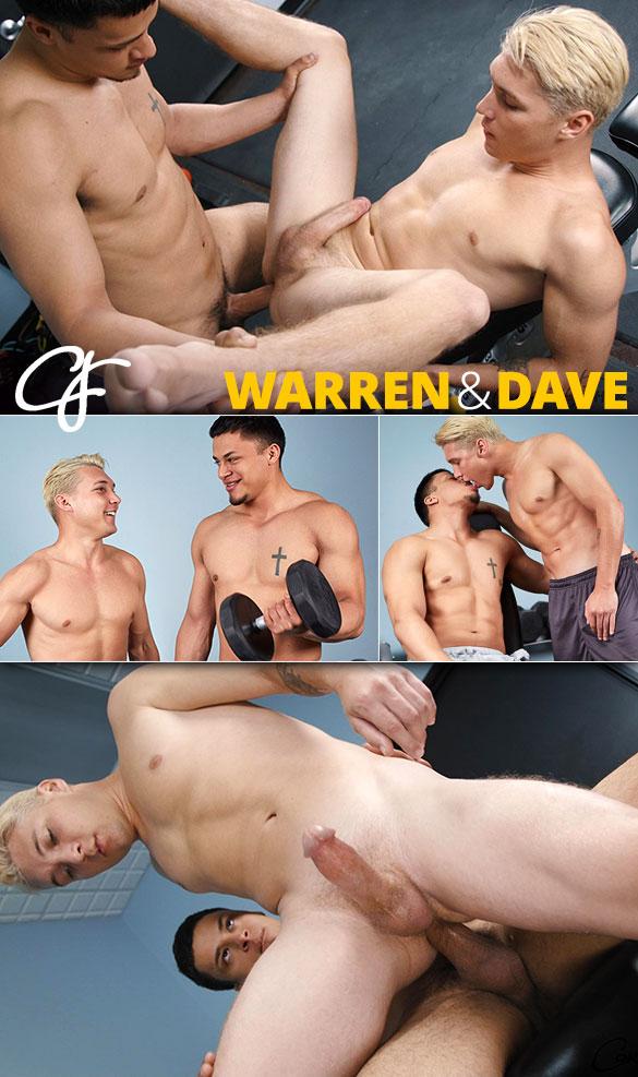 Corbin Fisher: Warren barebacks Dave