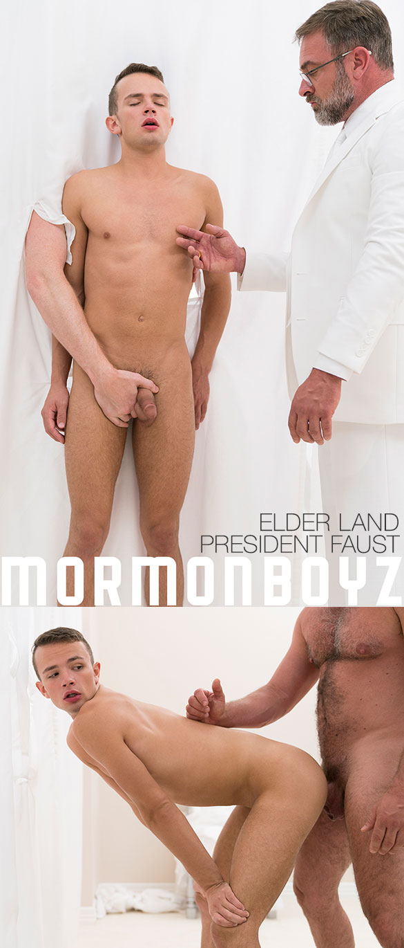 "MormonBoyz: President Faust bangs Elder Land raw in ""Endowment"""