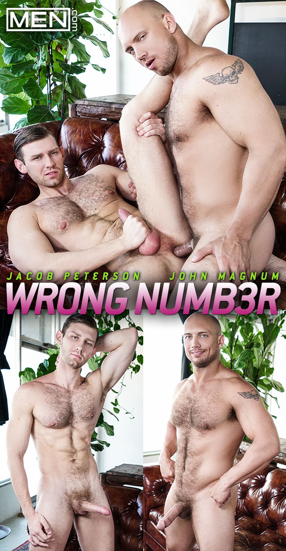 "Men.com: John Magnum fucks Jacob Peterson in ""Wrong Number"""