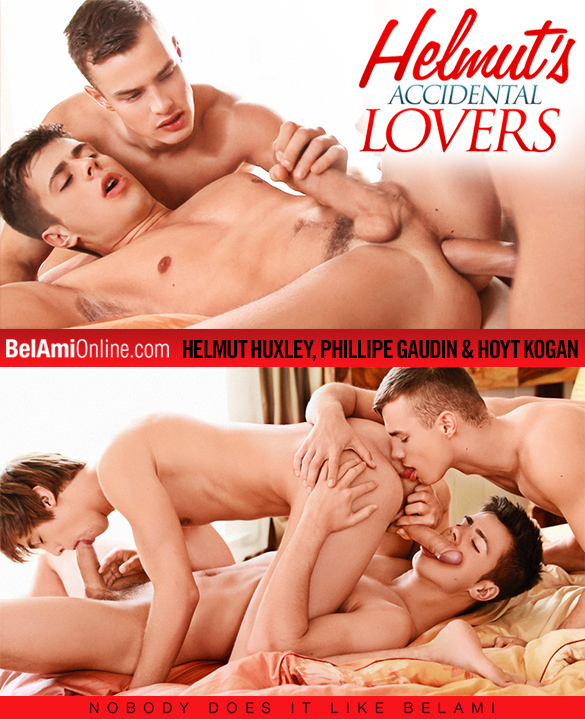 BelAmi: Helmut Huxley, Phillipe Gaudin and Hoyt Kogan's bareback threesome