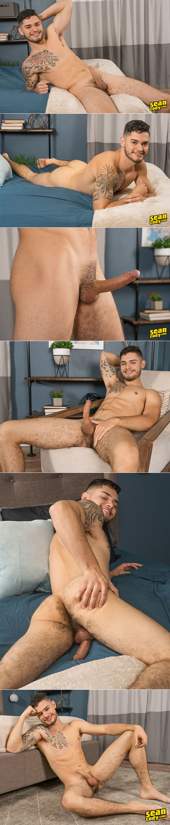Sean Cody: Ruben busts a nut