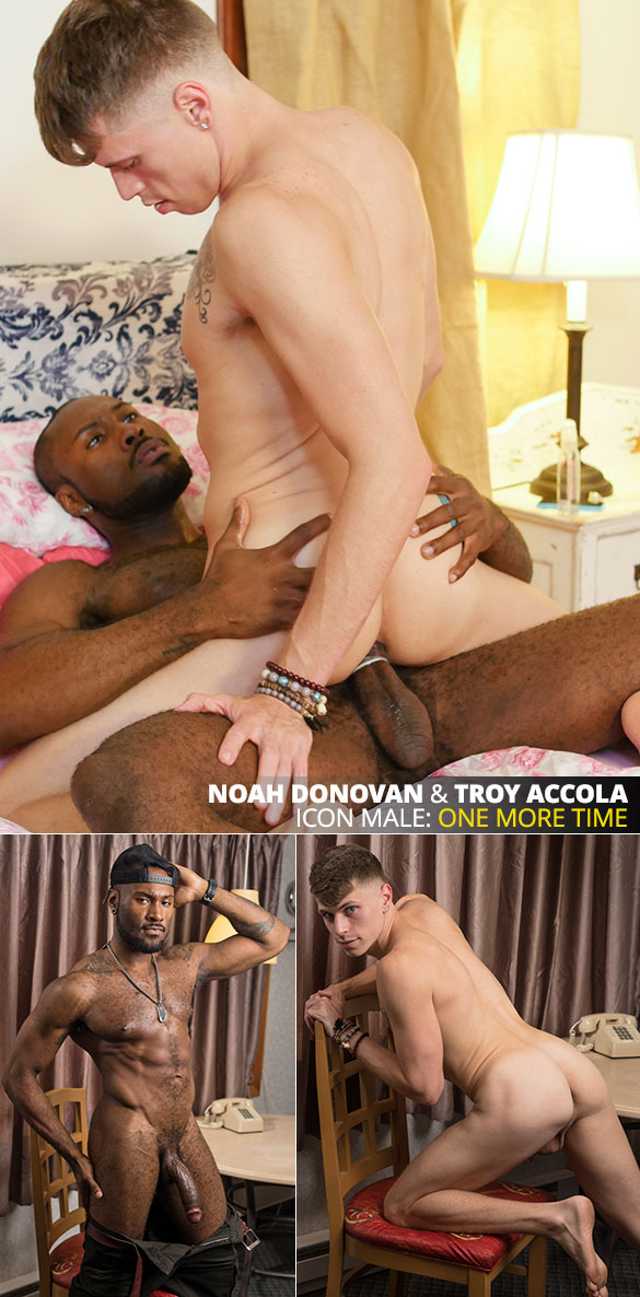 "IconMale: Troy Accola rides Noah Donovan's massive cock in ""His Sister's Lover"""