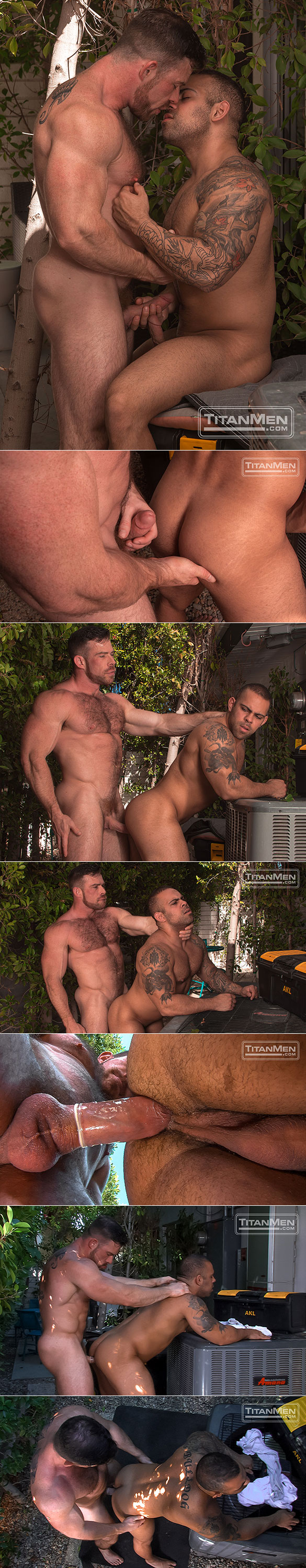 "TitanMen: Liam Knox fucks Lorenzo Flexx in ""Big Brother"""