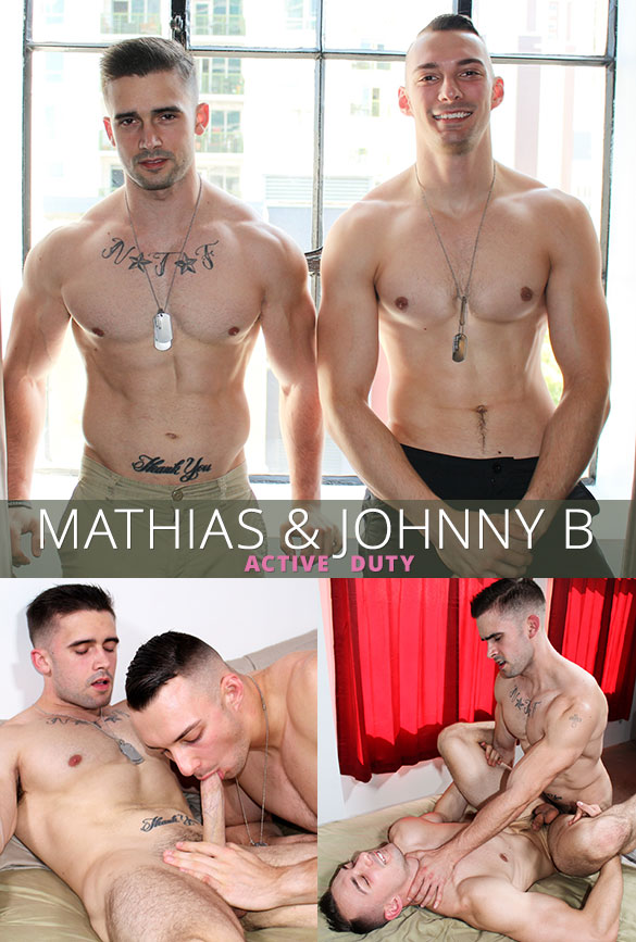ActiveDuty: Mathias breaks in newbie Johnny B