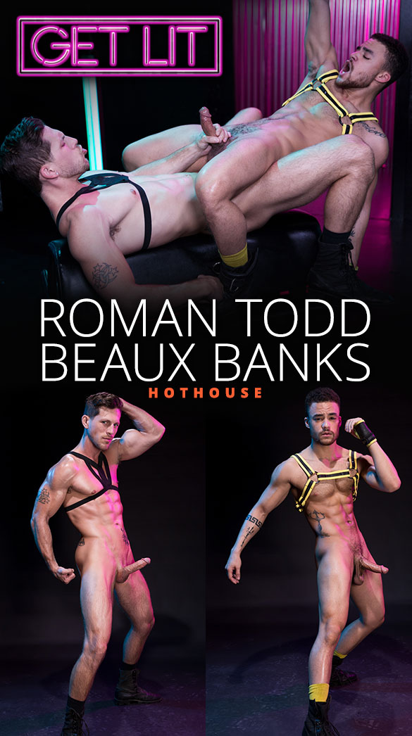 "HotHouse: Roman Todd fucks Beaux Banks in ""Get Lit"""