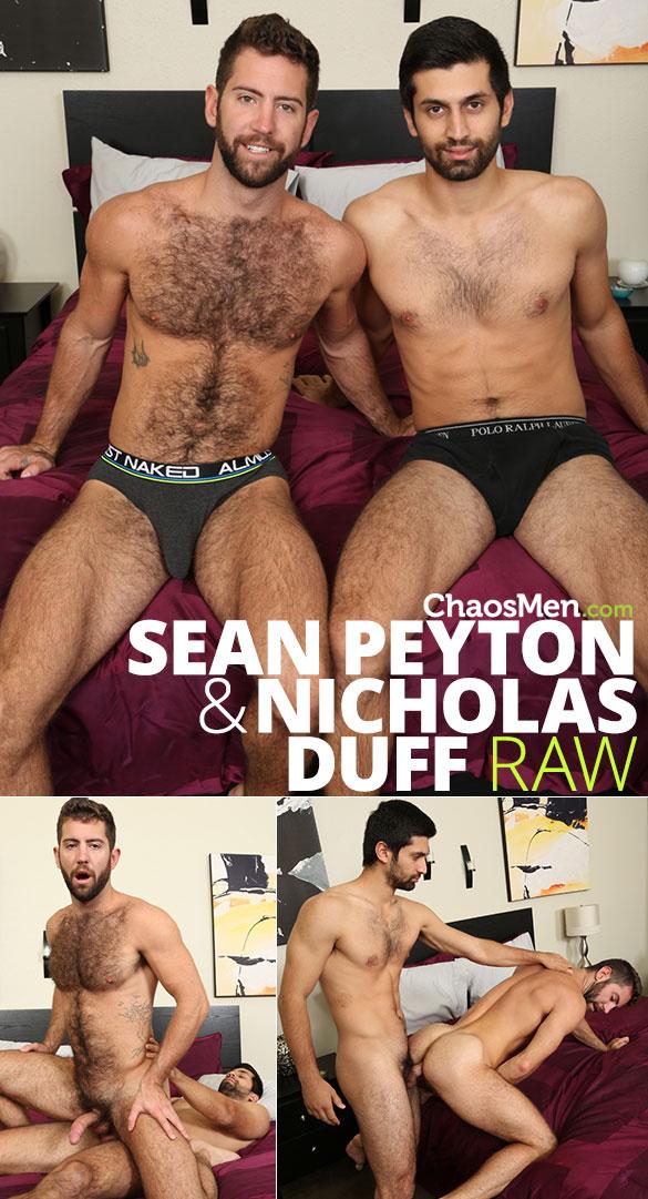 ChaosMen: Nicholas Duff fucks Sean Peyton raw