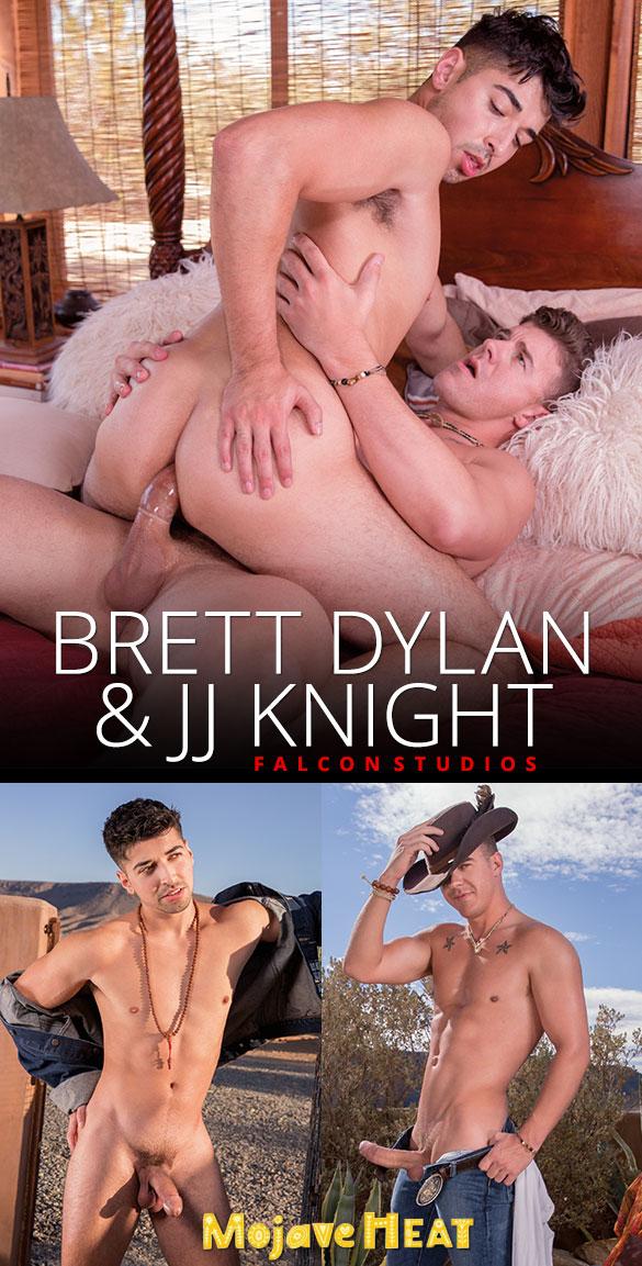 "Falcon Studios: Brett Dylan rides JJ Knight's big cock in ""Mojave Heat"""