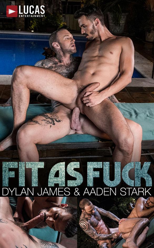 "Lucas Entertainment: Dylan James fucks Aaden Stark in ""Fit as Fuck"""