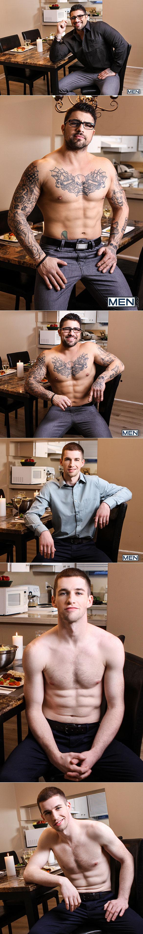 "Men.com: Thyle Knoxx rides Ryan Bones' thick cock in ""Ass Controller, Part 3"""