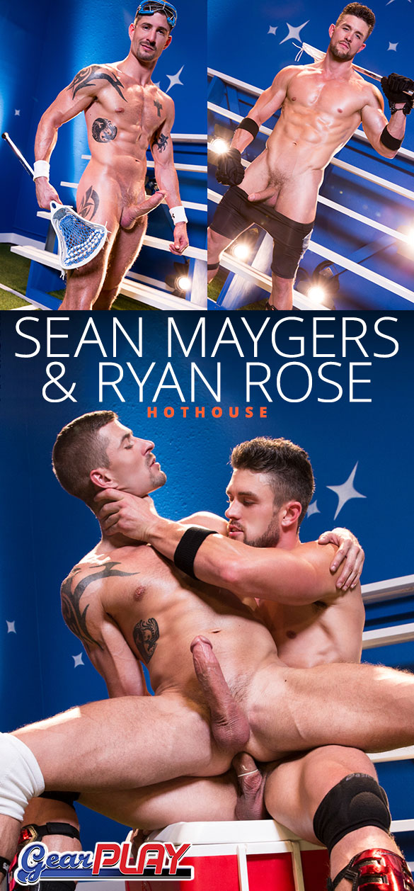 """HotHouse: Ryan Rose and Sean Maygers flip fuck in """"Gear Play"""""""