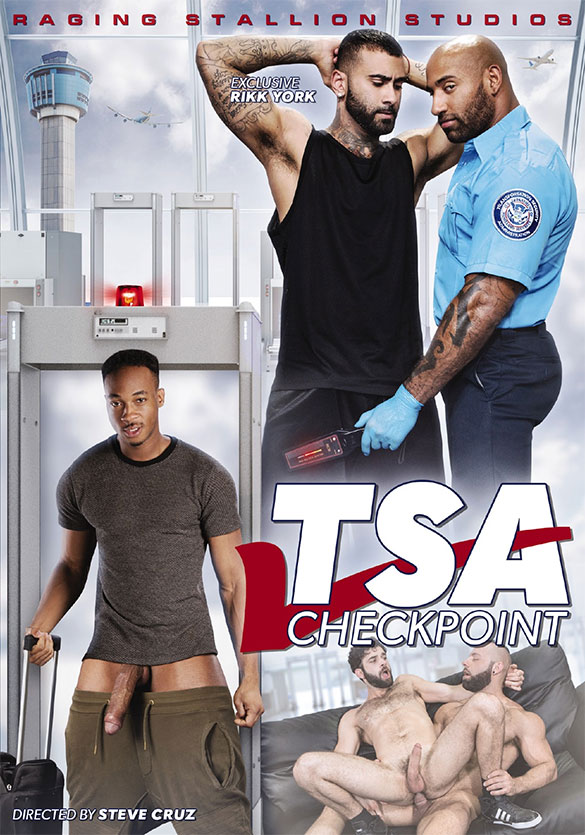 "NakedSword: Raging Stallion's ""TSA Checkpoint"""