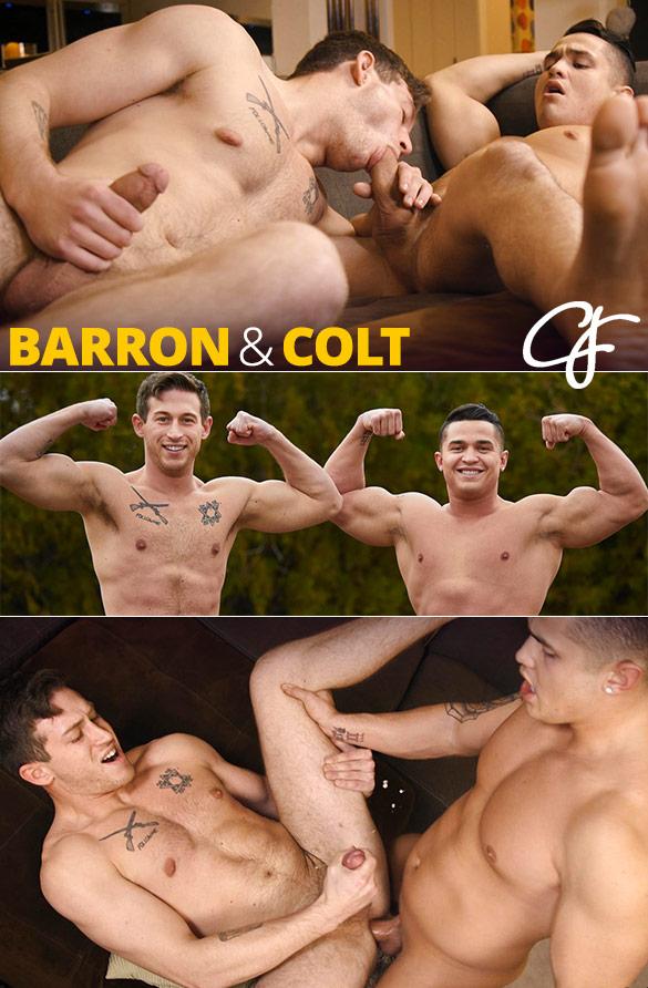 Corbin Fisher: Colt pounds Barron bareback